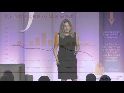MasterCard's Sarah Quinlan: Presentation  at the Women's Wear Daily CEO Summit