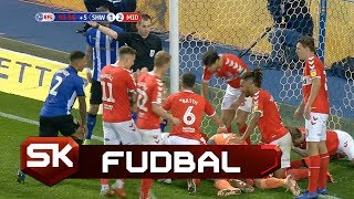 Igrači Midlzbroa Ragbi Intervencijom Sačuvali Gol | SPORT KLUB Fudbal