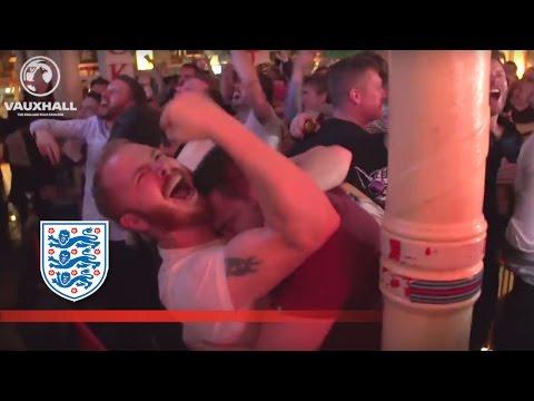 England 2-1 Wales (Euro 2016) - England fans react | Snapshots