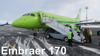 Flight Report | S7 Airlines Embraer 170 | Pulkovo to Yaroslavl
