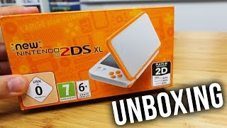NEW NINTENDO 2DS XL UNBOXING - Best DS Yet ??? Size Comparison 3DS vs 2DS vs Switch