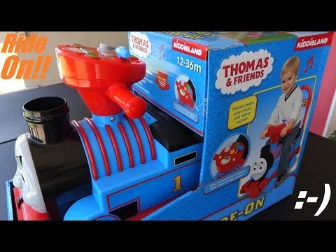 Thomas & Friends: Checking Out Thomas The Tank Engine Ride-on video