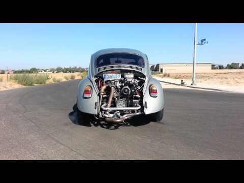 Turbo 1600cc vw bug 18psi msd 2 step