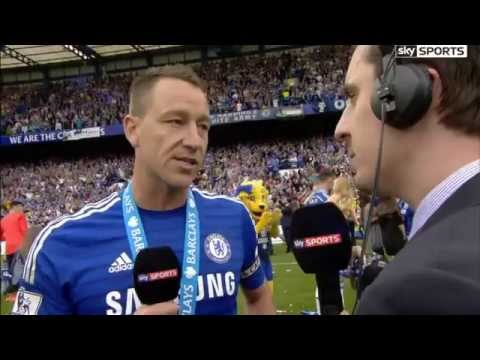 Chelsea's John Terry Interview with Gary Neville After Winning 14/15 EPL Chapiones