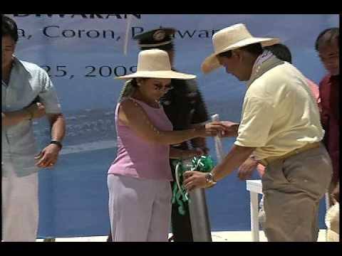 Groundbreaking of  Isla Diwaran Resort