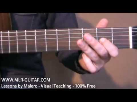 Hotel California Unplugged - Guitar Lesson Part 1 Of 4