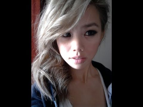 HOW TO GET ASHBLONDE HAIR (BLEACHING AND TONING) asian ash blonde hair