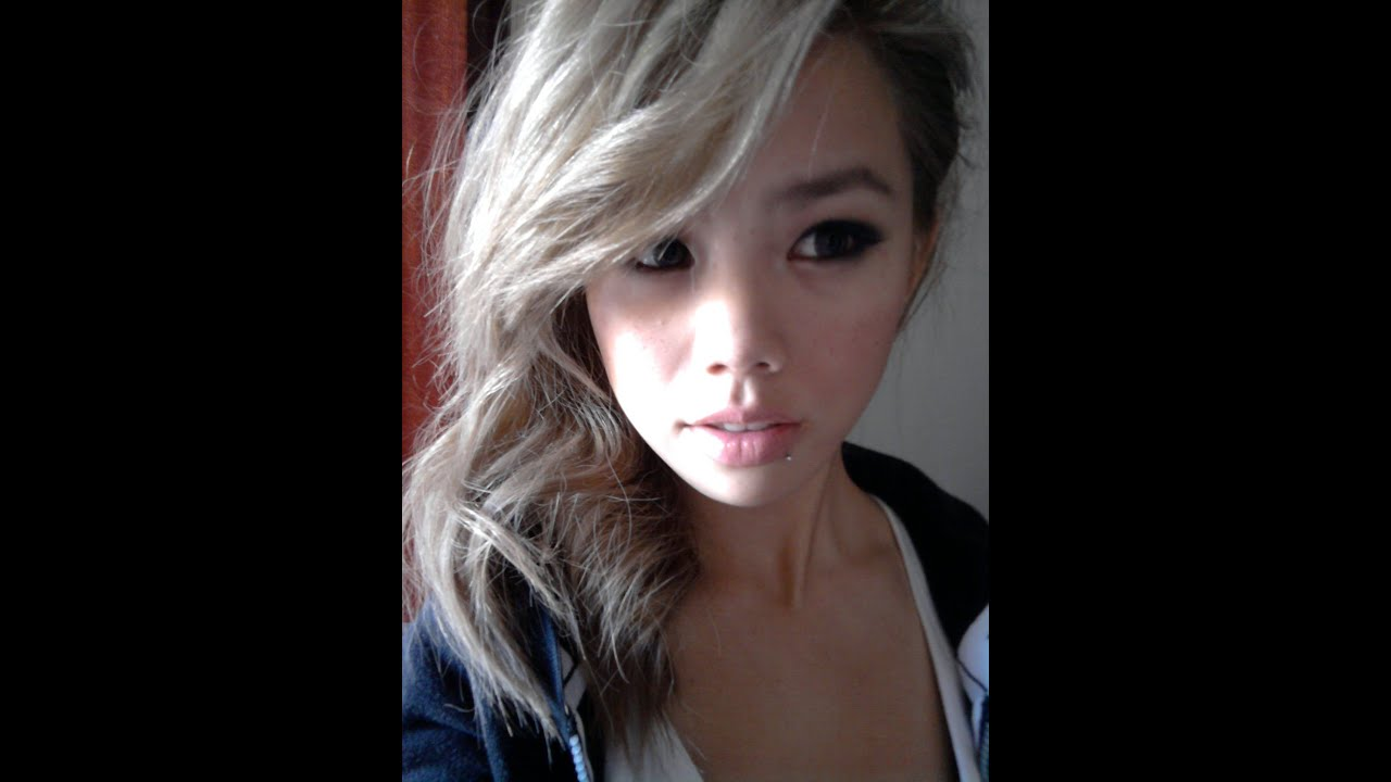 How To Get Ashblonde Hair Bleaching And Toning Asian Ash