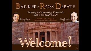 Video: Bible Prophecy & Archaeology - Dan Barker vs Thomas Ross