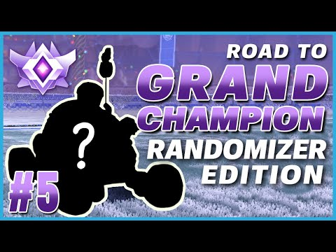 HITTING A DOUBLE FLIP RESET WITH THE GIZMO?! | ROAD TO GRAND CHAMP RANDOMIZER EDITION #5