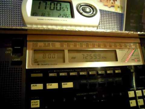 【世界一周ラジオの旅】~[バヌアツ]Radio Vanuatu 7260kHz