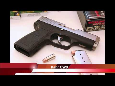 Kahr Arms Overview - Review CW9 (PM9. CM9. K9)  / GoPro Hero2