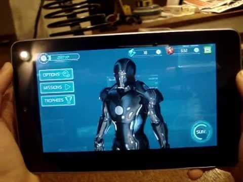 Iron man 3 : Andorid _ Nexus 7