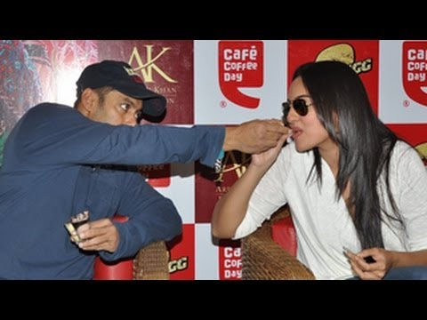 Salman Khan's Funny Date With Sonakshi Sinha - Dabangg 2 video