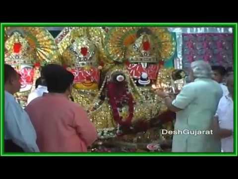 VANDE MATARAM - SHRI NARENDRA MODI JI PAYING OBEISANCE TO BHARATA-VARSHA.