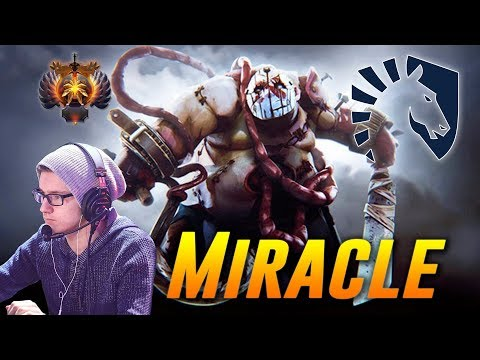 Miracle Pudge Battle Cup   Dota 2 Pro Gameplay