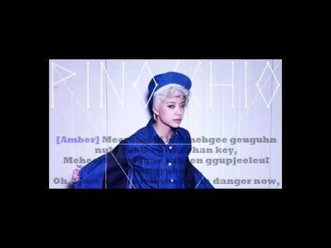 Fx -Pinocchio(Danger) Lyrics w/ MV(in the end)