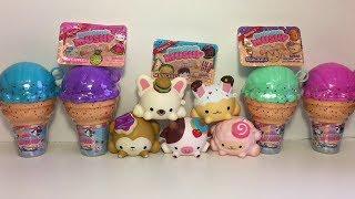Smooshy Mushy Squishies Series 3 Creamery Cones Blind Box Besties Toy Unboxing & Review