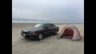 Camping on the beach / Work and Travel #19