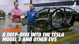 A Look Inside The Tesla Model 3, Chevy Bolt, and BMW i3