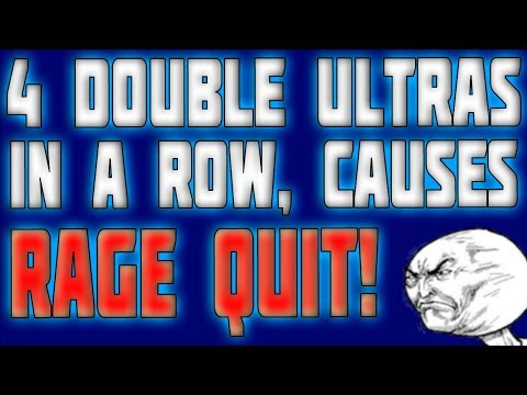 4 DOUBLE ULTRA COMBOS IN A ROW CAUSES PEOPLE TO RAGE QUIT! (KILLER INSTINCT XBOX ONE)
