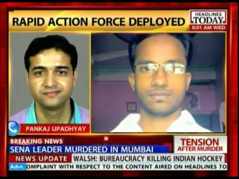 Shiv Sena leader murdered in Mumbai
