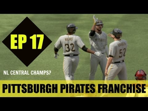 MLB 13 The Show - Pittsburgh Pirates Franchise - EP17 (NL Central Champions?)