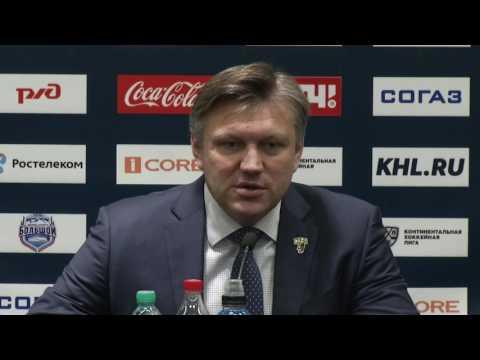 Сочи – СКА. Пресс-конференция тренеров