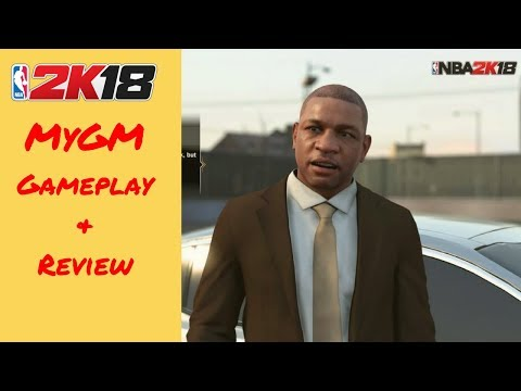NBA 2k18 MyGM Review: The Next Chapter Gameplay