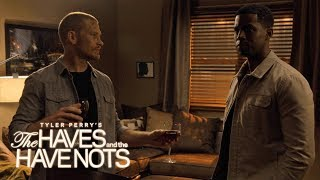 Jeffery Finally Visits Justin's Home | Tyler Perry's The Haves and the Have Nots | OWN
