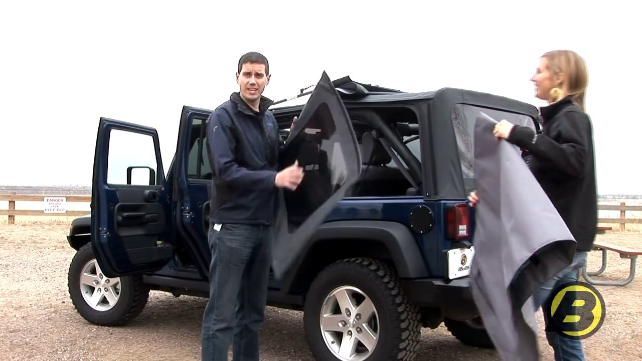Using The Soft Top On Your Jeep Wrangler Jk Youtube