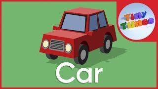 Vehicles Song for kids  Modes of Transport   Tiny Tunes