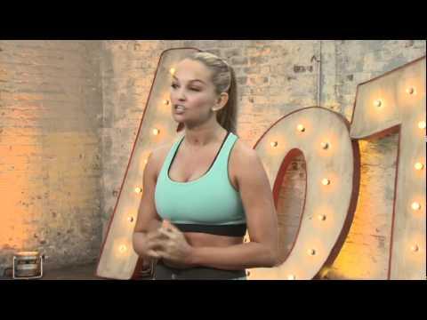 Exclusive Jennifer Ellison fitness DVD clip!