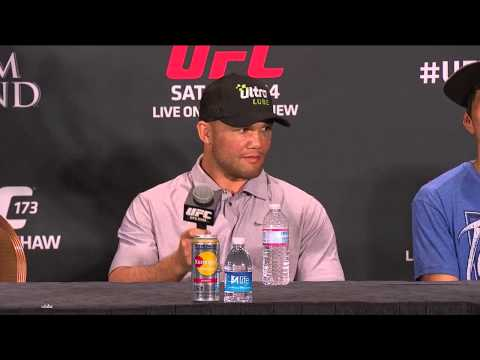 UFC 173: Post-fight Press Conference Image 1