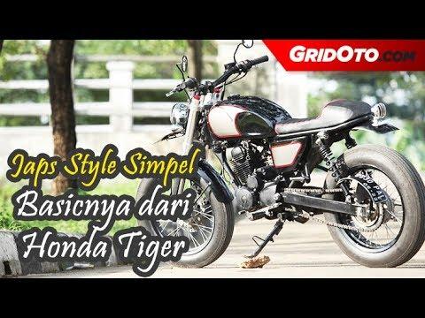 Japs Style Simpel Nih Basicnya Dari Honda Tiger