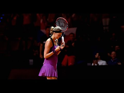 2016 Porsche Tennis Grand Prix Quarterfinal | Petra Kvitova vs Garbine Muguruza | WTA Highlights