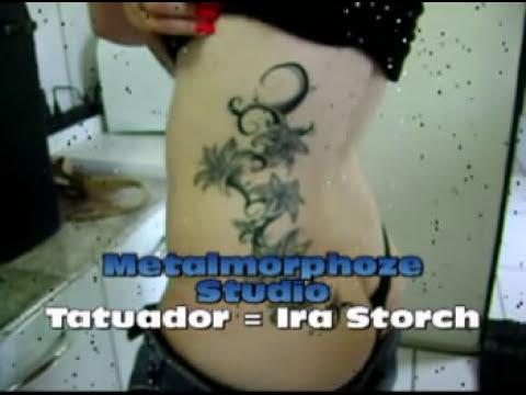 Tatuagem de Flores - Lirios Estilizados  - Metalmorphoze Studio Tattoo & Piercing - Blumenau - SC