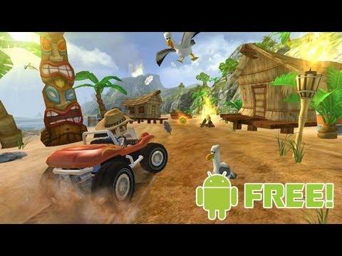 Jogos grátis para Android: Beach Buggy Blitz (Gameplay comentada)