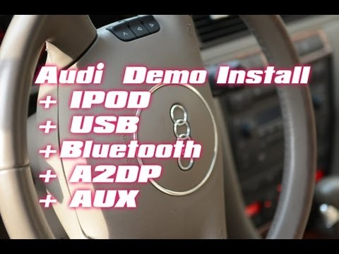 Audi AllRoad A4 S5 A6 IPOD .Iphone.USB.BLUETOOTH.Symphony Radio Aux Mp3 Adapter by Grom & AUTOTOYS