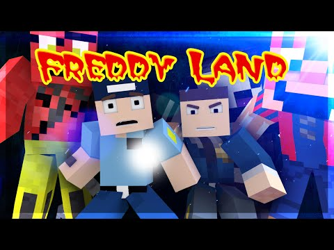 "Minecraft Five Nights at Freddy's 3 ""ADVENTURE MAP"" Freddy Land Ep.9"