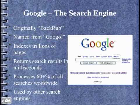 google inc company profile presentation