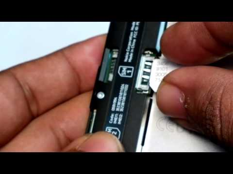 Lumia 630 : How to Insert Micro SD Card & SIM & Remove it