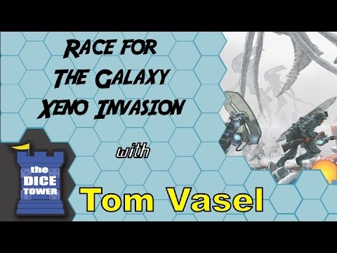 Race for the Galaxy: Xeno Invasion Review - with Tom Vasel