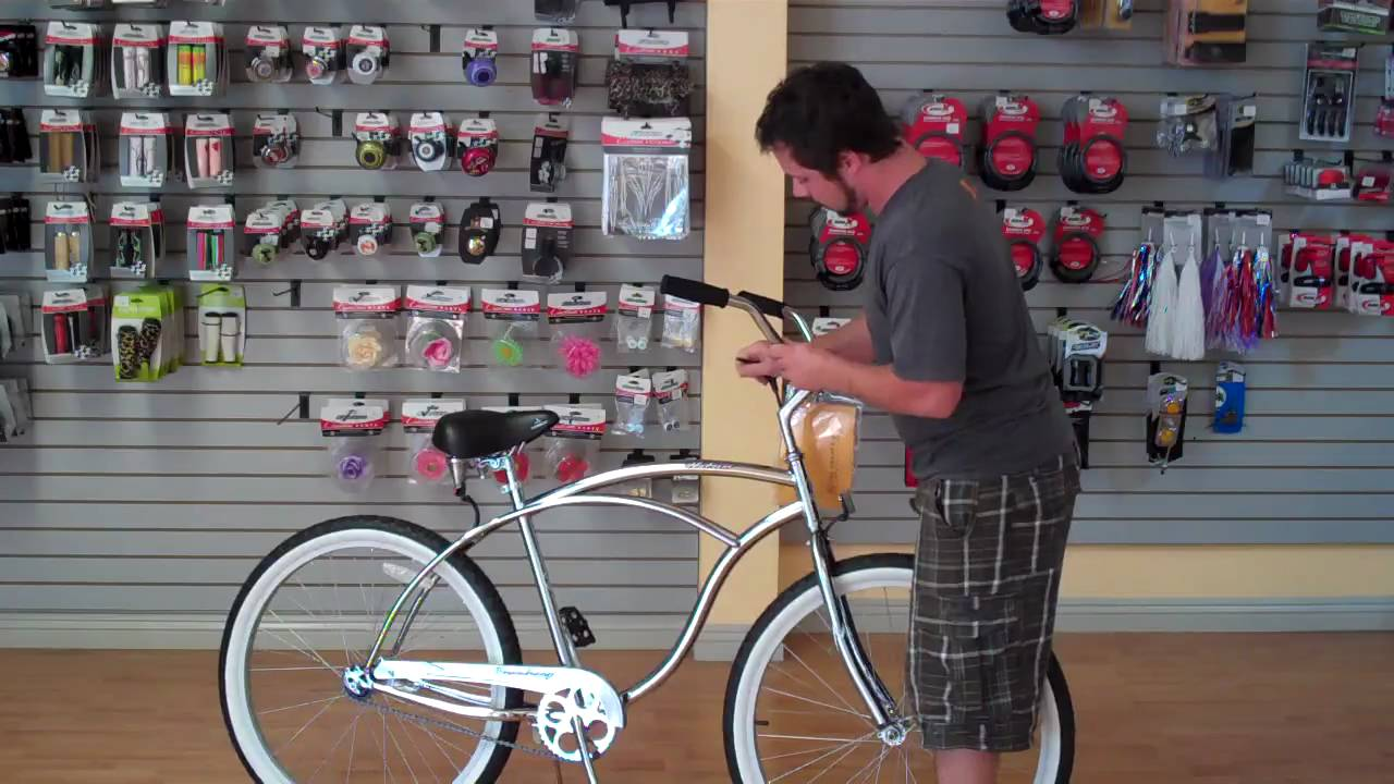 Adjusting your beach cruiser bicycle to fit you ...