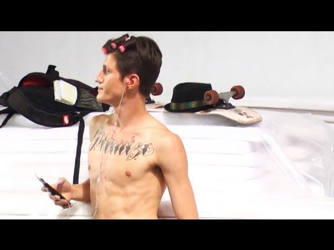Backstage with the Boys at Vivienne Westwood Spring/Summer 2013   Milan Men Fashion Week   FashionTV