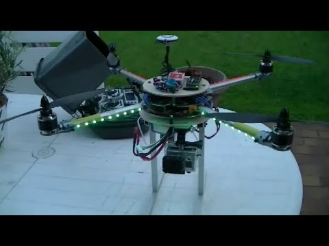 Turnigy H.A.L. maiden flight NAZA