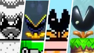 Evolution of Muncher in Super Mario Games (1988 - 2019)