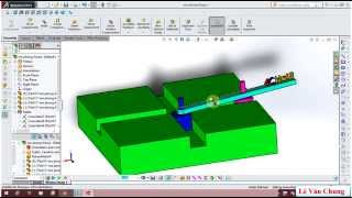 Solidworks : Tịnh tiến và quay - translational and rotary in solidworks motion
