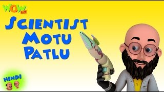 Download Scientist Motu Patlu - Motu Patlu in Hindi - 3D Animation Cartoon for Kids -As on Nickelodeon 3Gp Mp4