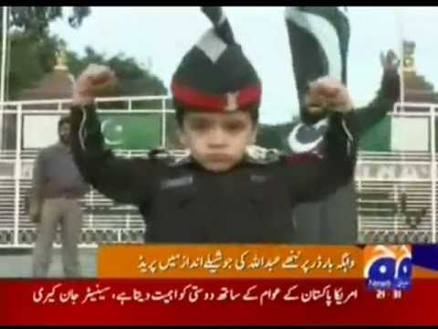 Wagha Border Abdullah Amazing Prade ( 14 Oct, 2009 ) video